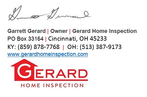Home inspection tips gerard home inspection blog for Home inspection tips